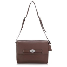 Mulberry-Mulberry Brown Leather Shoulder Bag-Brown