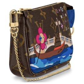 Louis Vuitton-Louis Vuitton mini pochette new-Brown