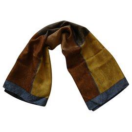 Yves Saint Laurent-Silk scarves-Multiple colors