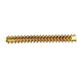 inconnue-Bracelet articulé en or jaune.-Autre