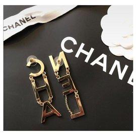Chanel-Sublime Chanel earrings 2019-Golden