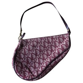 Dior-Saddle bag-Dark red