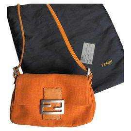 Fendi-Handbags-Orange