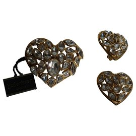 Yves Saint Laurent-Pins & brooches-White