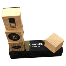 Chanel-Chanel stamps-Beige