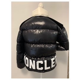 Moncler-Coats, Outerwear-Black