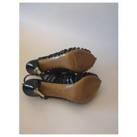 Louis Vuitton-Marbella sandals-Black