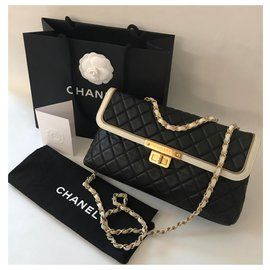 Chanel-Flap 30 cm Limited Edition-Black