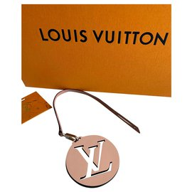 Louis Vuitton-Bag charms-Beige