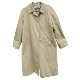 Burberry-raincoat woman Burberry vintage size 42 with removable wool lining-Beige