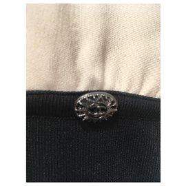 Chanel-Dresses-Black,Beige