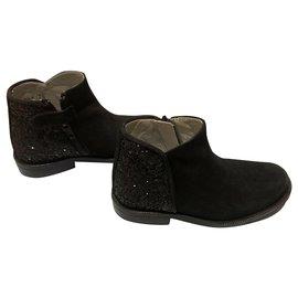 Tartine et Chocolat-boots-Noir