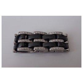 Chanel-RING CHANEL ULTRA GM DIAMONDS-Black,White
