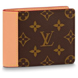 Louis Vuitton-Mens wallet louis Vuitton-Brown