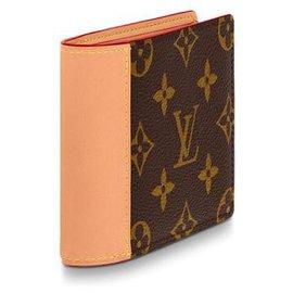 Louis Vuitton-Mens wallet louis Vuitton-Brown
