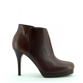 Balenciaga-Ankle Boots / Low Boots-Chocolate