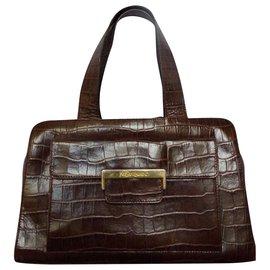 Yves Saint Laurent-Handbags-Dark brown