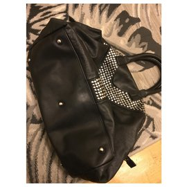 Yves Saint Laurent-Muse limited edition studded-Black