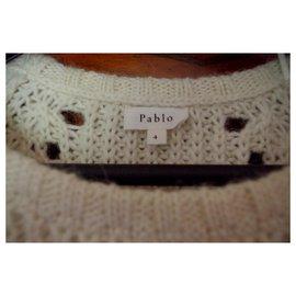Pablo De Gerard Darel-Knitwear-Eggshell