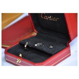 Cartier-Cartier Love earrings in white gold-Silvery,White,Grey