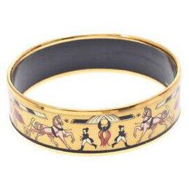 Hermès-Hermès Bracelet Chaine d'Ancre-Jaune