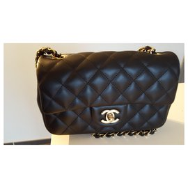 Chanel-timeless rectangular-Black