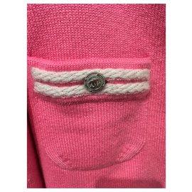 Chanel-Knitwear-Pink,White