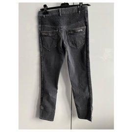 Isabel Marant Etoile-jeans-Gris