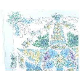 Hermès-Hermès scarf-Green