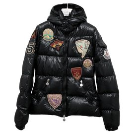 Moncler-LES DEUX ALPES Down Jacket-Black