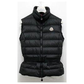 Moncler-Moncler GAELLE GILET Vest Down Jacket-Black