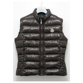 Moncler-Moncler GHANY Vest Down Jacket-Brown