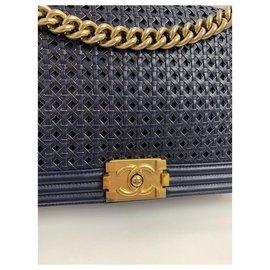 Chanel-chanel boy-Dark blue