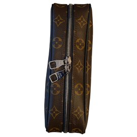 Louis Vuitton-Large model toilet bag-Brown