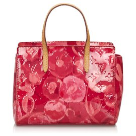 Louis Vuitton-Louis Vuitton Pink Vernis Ikat Catalina BB-Pink