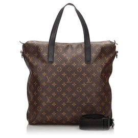 Louis Vuitton-Louis Vuitton Brown Monogram Macassar Kitan-Brown,Black