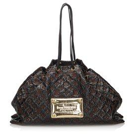 Louis Vuitton-Squishy Squishy Inventeur en vinyle marron Louis Vuitton-Marron,Noir