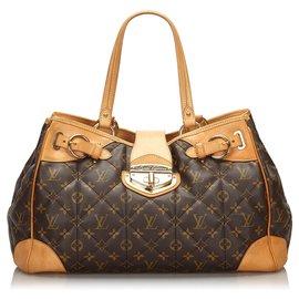 Louis Vuitton-Louis Vuitton Brown Monogram Etoile Shopper-Brown
