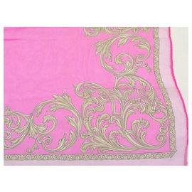 Versace-Versace stole-Pink