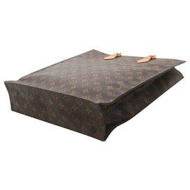 Louis Vuitton-Louis Vuitton Sac Plat NM36-Brown