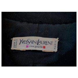 Yves Saint Laurent-Jacket-Black