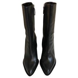 Jil Sander-Ankle boots-Black