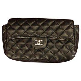 Chanel-Chanel, CHANEL BELT BAG UNIFORM-Black