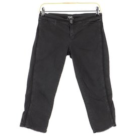 D&G-Cropped trousers-Black