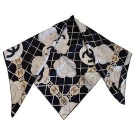 Chanel-Chanel scarf-Black