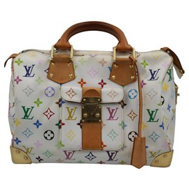 Louis Vuitton-Speedy 30-Blanc