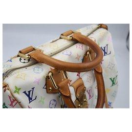 Louis Vuitton-Speedy 30-White