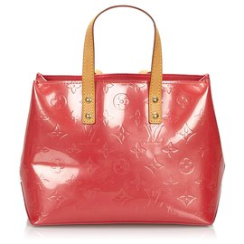 Louis Vuitton-Louis Vuitton Pink Vernis Reade PM-Rose