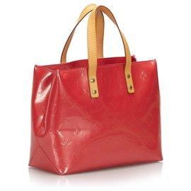 Louis Vuitton-Louis Vuitton Pink Vernis Reade PM-Pink