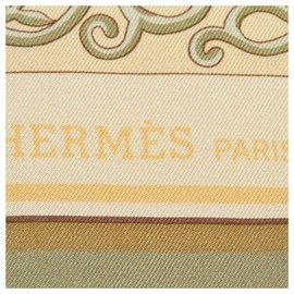 Hermès-Hermes Green www.Hermes.com Silk Scarf-Multiple colors,Green